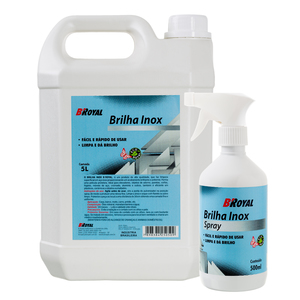 Kit brilha inox